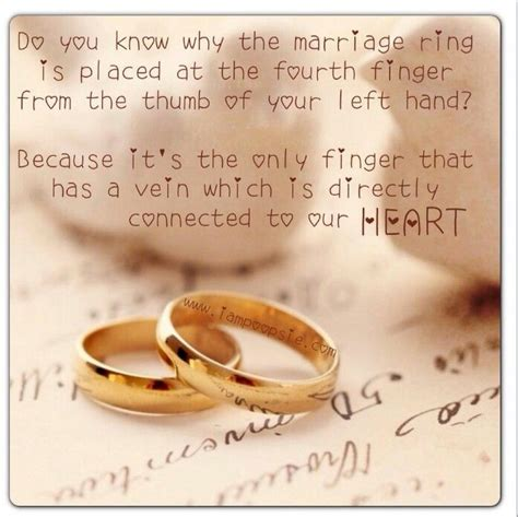 wedding ring symbolism quotes quotesgram