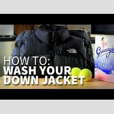 How To Wash Your Hiking Down Jacket Without Ruining The