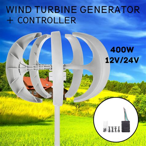 400w 12v24v Wind Turbine Generator Windrad Windgenerator