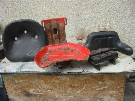 siege tracteur ancien restauration de mon renault d35 de 1959