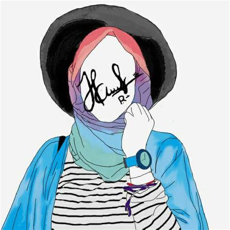 hijab drawing hijab illustration art doodling