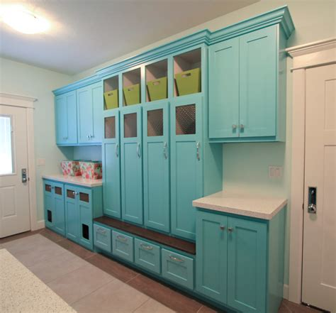 spotlights for kitchen cabinets turquoise laundry mud room eclectic laundry room 5657