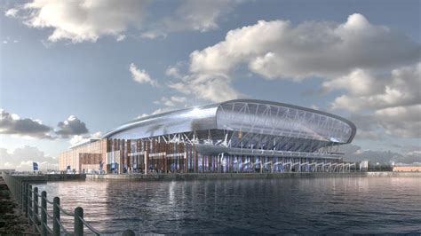 Everton unveils final stadium design as plans go in - New ...