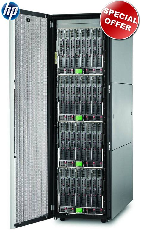 server rack cabinet hp 19 quot server rack 10000 g2 42u complete 120 cm depth p n