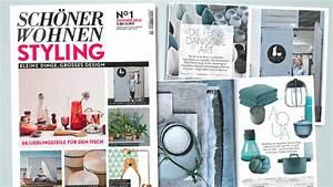 Wohnen Magazin : sch ner wohnen styling gruner jahr startet line extension f r wohnaccessoires meedia ~ Orissabook.com Haus und Dekorationen
