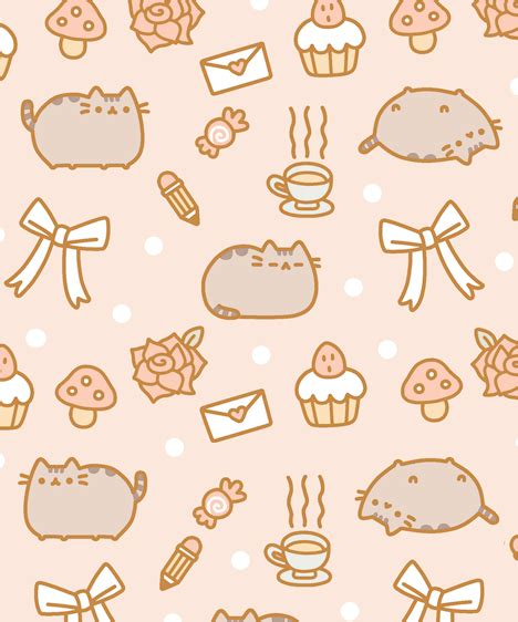 Pusheen Background The Gallery For Gt Pusheen Background
