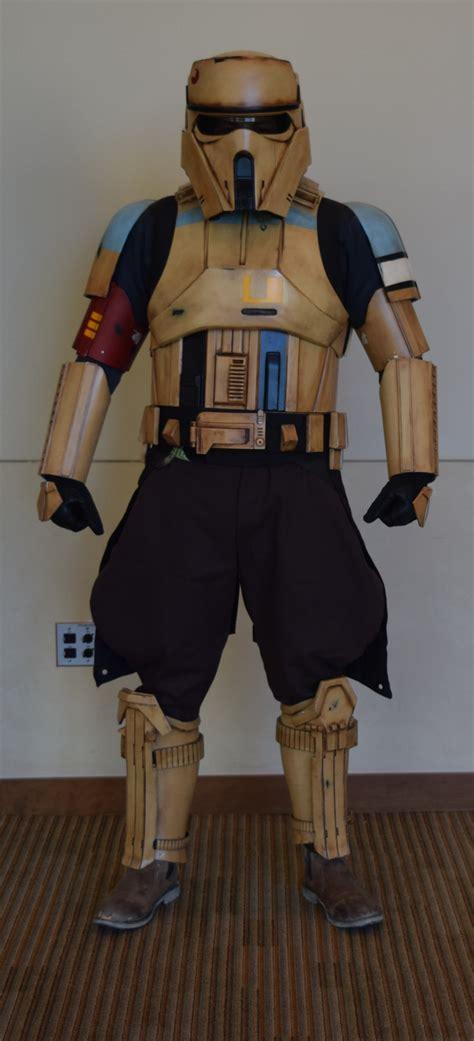 shoretrooper squad leader boba fett costume  prop