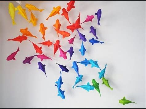 Origami Koi Fish Tutorial Sipho Mabona Youtube