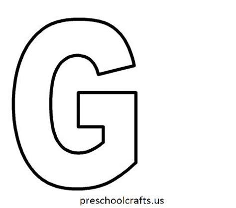 Letter G Coloring Page Letter G Coloring Pages Preschool And Kindergarten