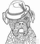 Coloring Pages Boxer Dog Dogs Pet Puppy Sheets Printable Adult Sheet Drawing Bhg Relax Help Boxers Young Leave Pets Cats sketch template