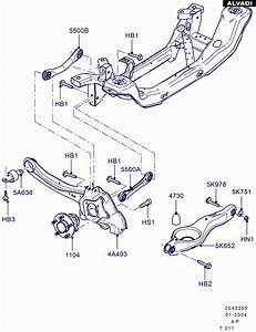 Ford Rear Knuckle And Suspension Arms