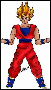 How Do You Draw Dragon Ball Z Characters Full Body