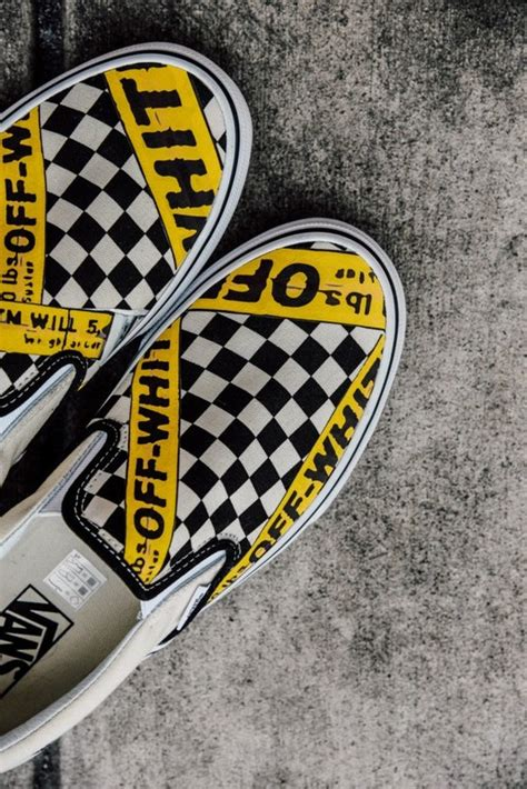 Amac Usa by Vans Usa Amac Customs Checkerboard Slip On Classic Yellow