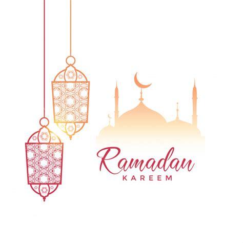 ramadan lantern vectors   psd files
