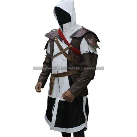Edward Kenway Assassins Creed Black Flag Leather Costume