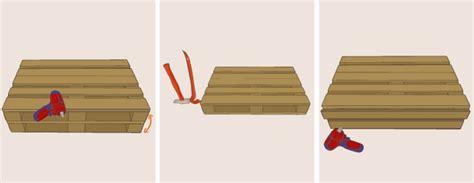 canapé lit facile à ouvrir fabriquer un canapé en palette canapé