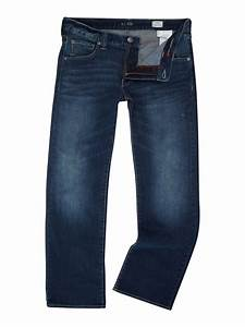 Armani jeans J05 Boot Cut Light Wash Jeans in Blue for Men | Lyst