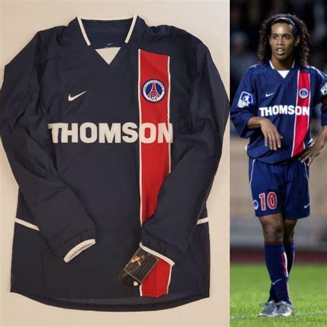 NIKE PSG PARIS SAINT GERMAIN 2002/03 PLAYER ISSUE SOCCER ...