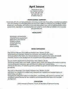 1 lpn resume templates try them now myperfectresume for Lpn resume
