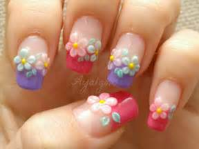 D flower nail art entertainmentmesh