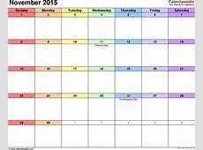 November 2017 Calendar Template – 2017 printable calendar
