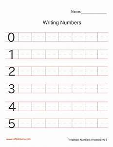 free printable preschool writing numbers worksheets free With learning to write letters and numbers for preschoolers