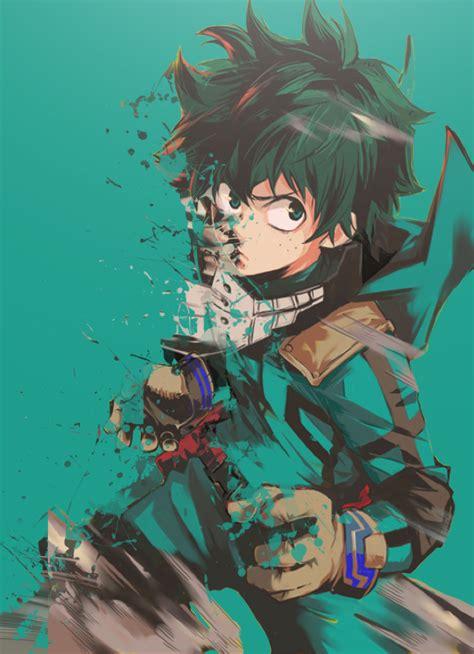 Anime Ipod Touch Wallpaper - boku no academia midoriya izuku hd wallpaper