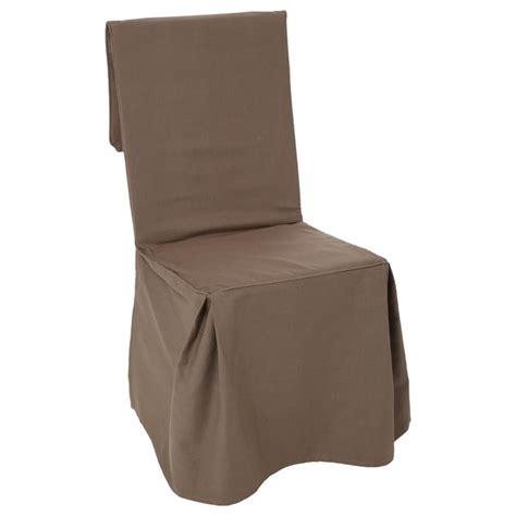 housse de chaise courte housse de chaise taupe hoze home
