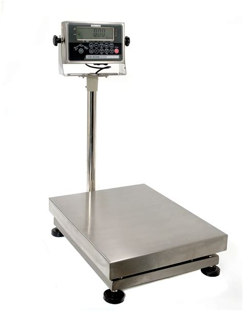 Ip67 Stainless Steel Bench Scale With Options To Print And