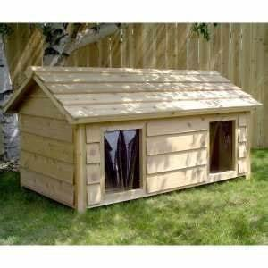 1000 ideas about insulated dog houses on pinterest dog With double insulated dog house