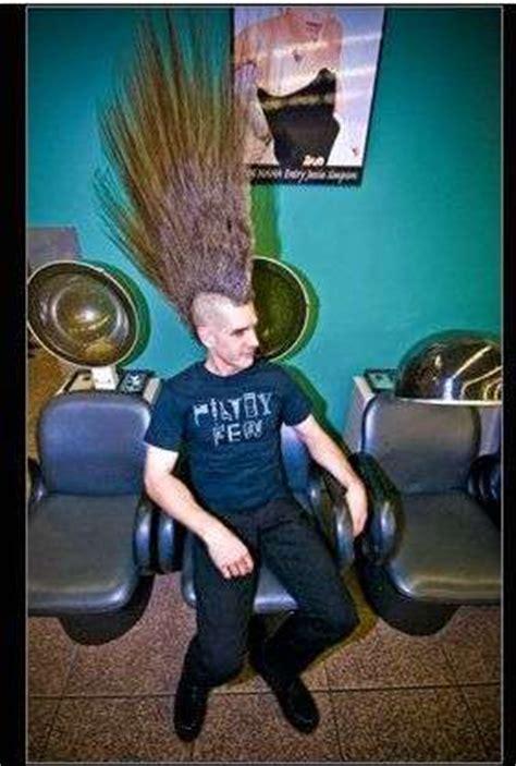 mohawks eric hahns record breaking hair