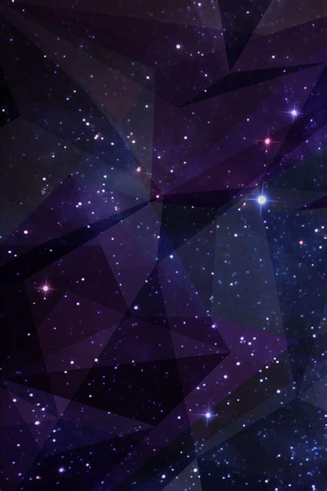 Galaxy iPhone Wallpaper Geometric