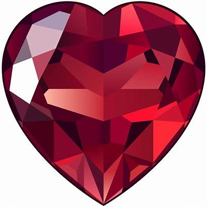 Ruby Clipart Stone Transparent Heart Clipground
