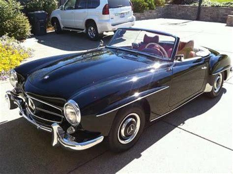 vendre voiture d occasion mercedes 190 sl 1962 d occasion n 176 147 45000e voitures de collection 224 vendre