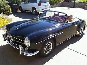 Voitures De Collection à Vendre : mercedes 190 sl 1962 d 39 occasion n 147 45000e voitures de collection vendre ~ Maxctalentgroup.com Avis de Voitures