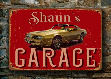 Custom Garage Sign by Pontiac Garage Sign Custom Garage Signs Classic Metal