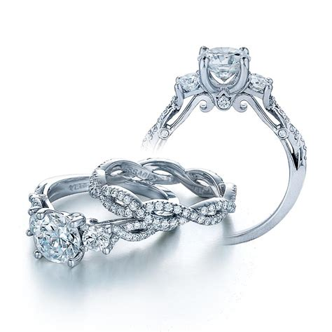 sparkling engagement rings and wedding bands by verragio
