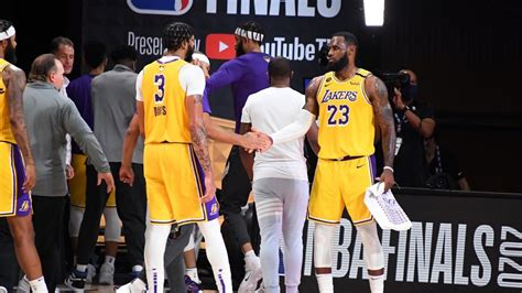 NBA Finals: James stars as Lakers move within touching ...