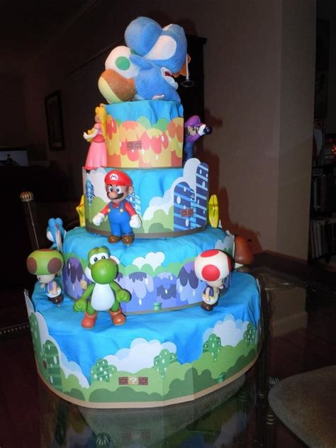 17 Best Images About Super Mario Brothers Theme Diaper