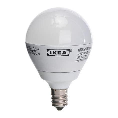 ikea ledare e12 200 lumen 3 0 watts small led light bulb