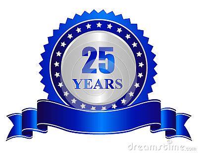 years anniversary seal stamp  banner stock