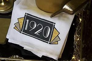 Trace Design Roaring 20s Art Deco Style Bar Towel Project By Decoart