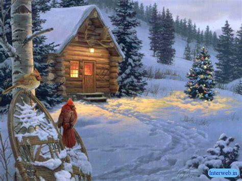 christmas snow wallpapers christmaswallpapers18