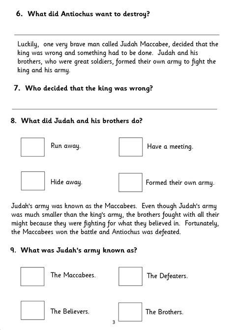 reading comprehension assessment ks2 reading