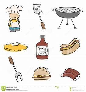 Cute BBQ Stock Photo - Image: 16626040