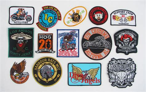 Promote Your Motorcycle Club With A Custom Embroidered Patches