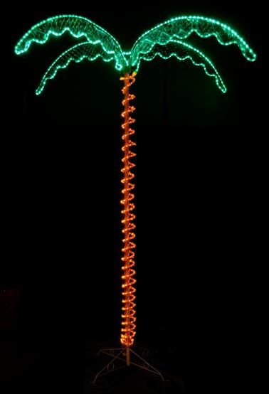 lighted palm trees  deluxe led lighted palm tree