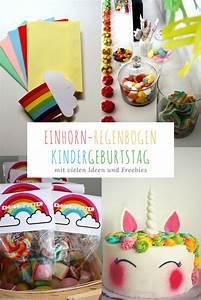 Kindergeburtstag 4 Jahre Ideen : viele bunte ideen f r einen einhorn regenbogen ~ Whattoseeinmadrid.com Haus und Dekorationen