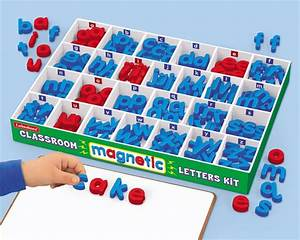 Classroom magnetic letters kit learning school for Magnetic letters kit