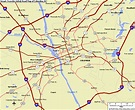 The Smart Traveler Map of Columbia, SC | Map, City maps ...